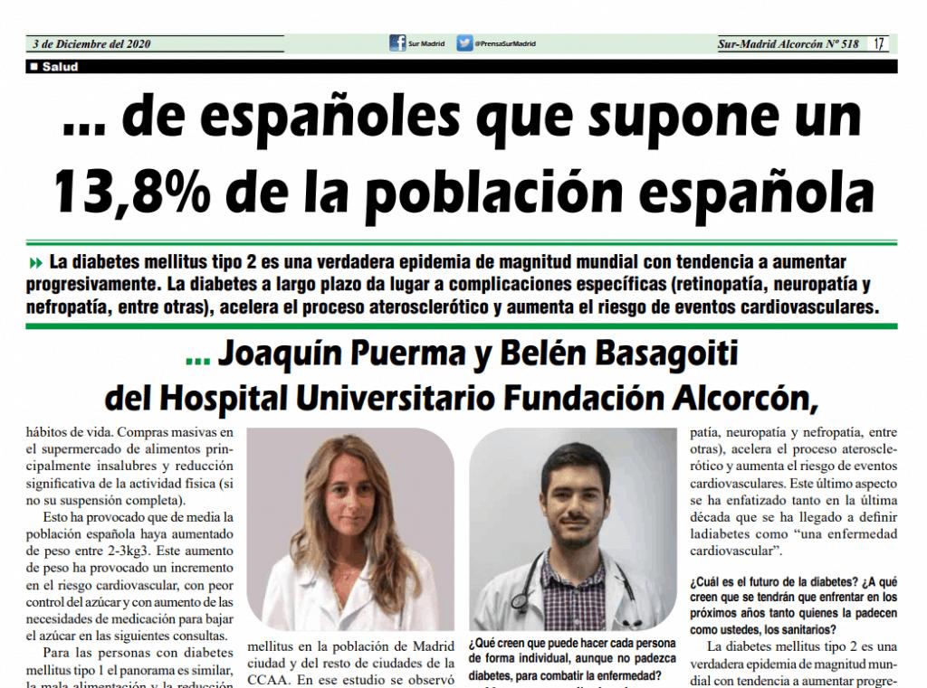 Diabetes en madrid Diario Sur Joaquín Puerma